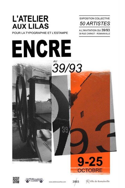 Expositions collectives  de l'atelier aux Lilas pour la typographie et l'estampe 2009-2015