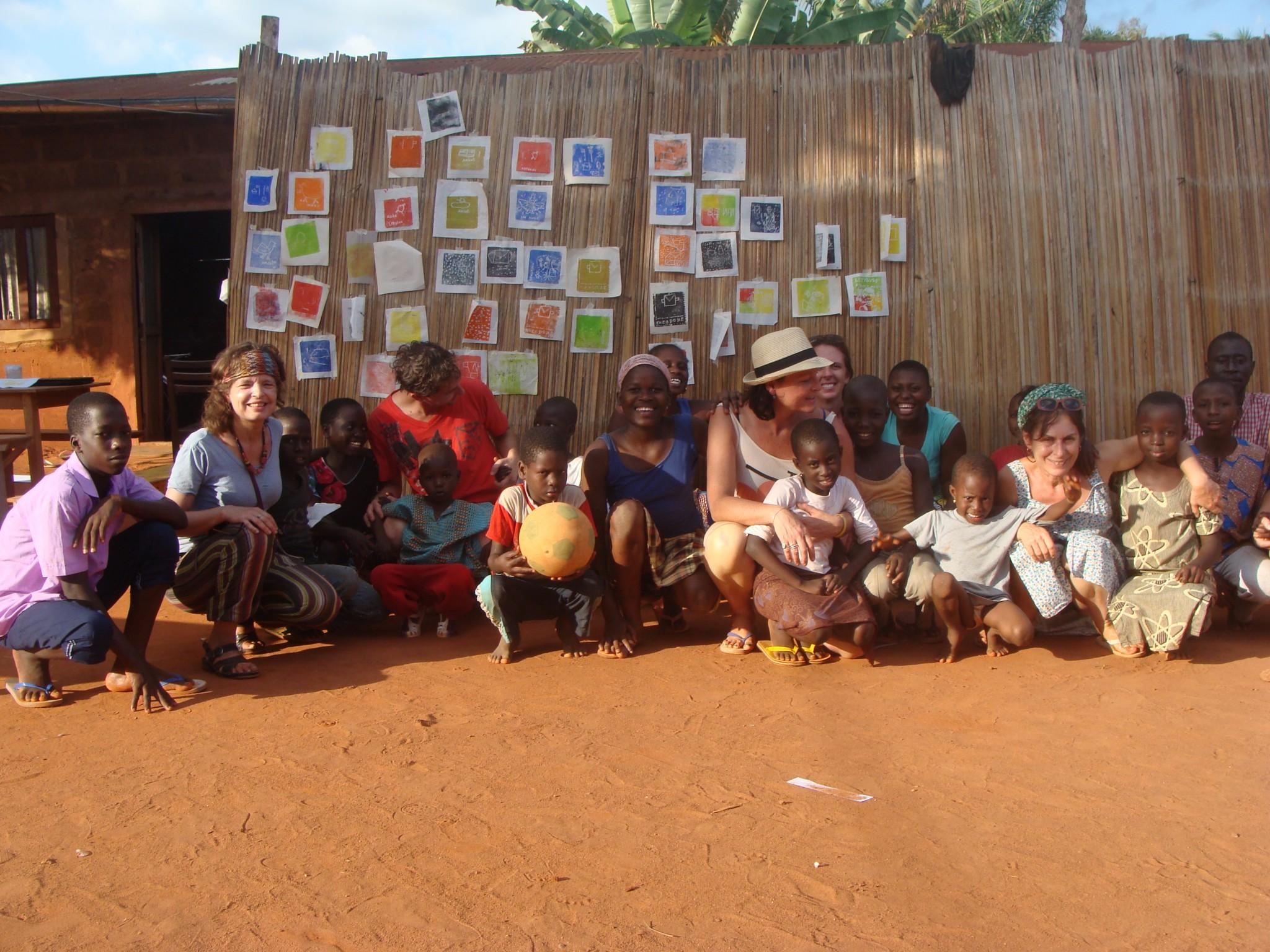 Echange Bénin 2012